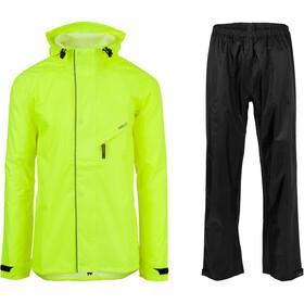 AGU Essential Passat Rain Suit, gul/sort